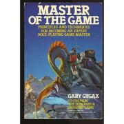 Cover of: Master of the game