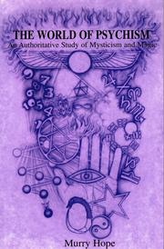 Cover of: The World of Psychism
