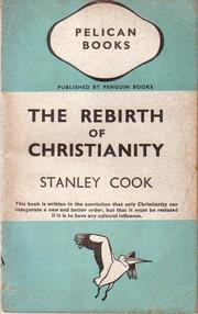 Cover of: The Rebirth of Christianity