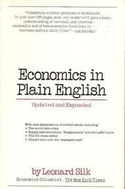 Cover of: Economics in plain English