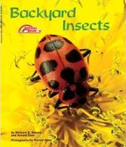 Cover of: Backyard Insects | Millicent E. Selsam, Ronald Goor