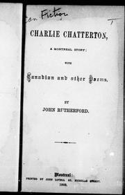 Cover of: Charlie Chatterton |