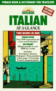 Cover of: Italian at a glance