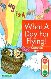 Cover of: What a day for flying!