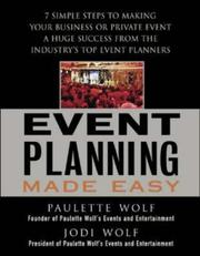 Cover of: Event Planning Made Easy | Paulette Wolf