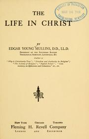 Cover of: The life in Christ