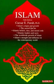 Cover of: Islam | Caesar E., Ph.D. Farah