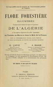 Cover of: Flore forestière illustrée