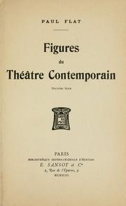 Cover of: Figures du theatre contemporain
