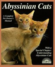 Cover of: Abyssinian cats