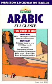 Cover of: Arabic at a glance