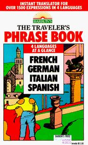 Cover of: The Traveler's Phrase Book