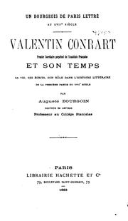Cover of: Un bourgeois de Paris lettré, au XVIIe siècle