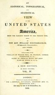 Cover of: An historical, topographical, and statistical view of the United States of America
