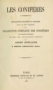 Cover of: Les Conifères