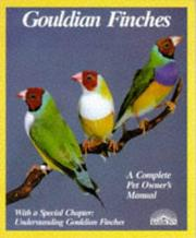 Cover of: Gouldian Finches