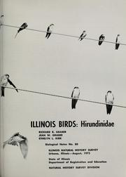 Cover of: Illinois birds: Hirundinidae