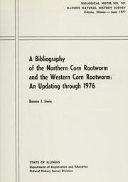 Cover of: A bibliography of the northern corn rootworm and the western corn rootworm
