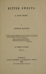Cover of: Bitter sweets