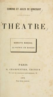 Cover of: Theatre
