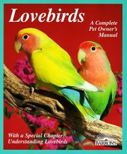 Cover of: Lovebirds