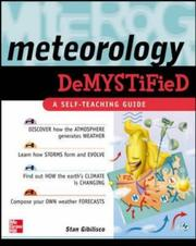Cover of: Meteorology Demystified | Stan Gibilisco