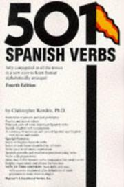 501 Spanish verbs fully conjugated in all the tenses in a new easy-to-learn format, alphabetically arranged