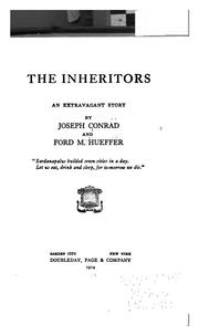 Cover of: The Inheritors: An Extravagant Story