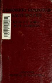 Cover of: Abel's laboratory handbook of bacteriology