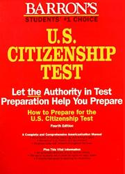Cover of: How to prepare for the U.S. citzenship test