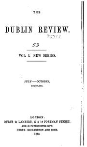 Cover of: The Dublin Review