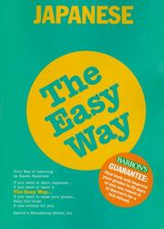 Cover of: Japanese the easy way | Karen Elsa Sandness