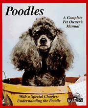 Cover of: Poodles | Joe Stahlkuppe