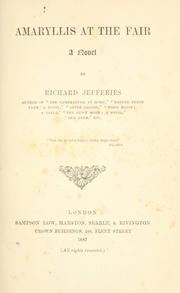 Cover of: Amaryllis at the fair | Richard Jefferies