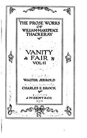 Cover of: Vanity Fair: a novel without a hero