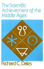 Cover of: The scientific achievement of the Middle Ages