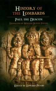 Cover of: History of the Lombards (The Middle Ages Series) | Paul the Deacon