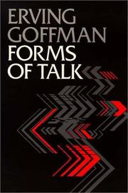 Cover of: Forms of talk