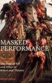 Cover of: Masked performance