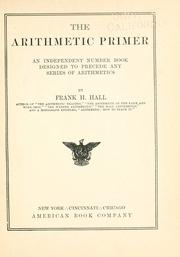 The arithmetic primer