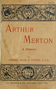 Cover of: Arthur Merton: a romance