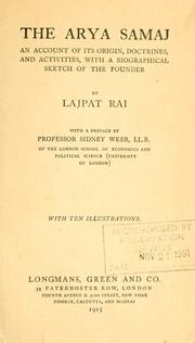 The Arya Samaj by Lajpat Rai Lala