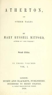 Cover of: Atherton and other tales