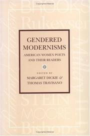 Cover of: Gendered modernisms