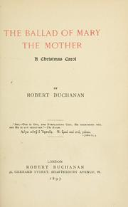 Cover of: The ballad of Mary the Mother