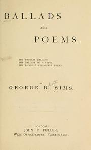 Cover of: Ballads and poems