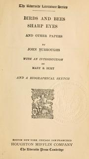Cover of: Birds and bees