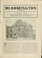 Cover of: Bloomington and Normal |