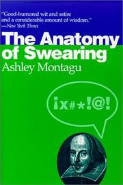 Cover of: The anatomy of swearing