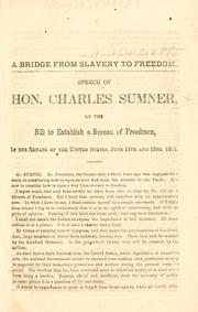 Cover of: A bridge from slavery to freedom